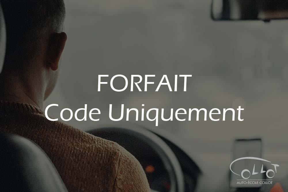 forfait code uniquement