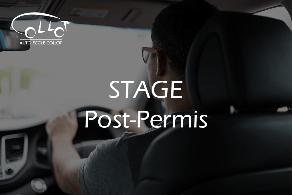 stage post permis